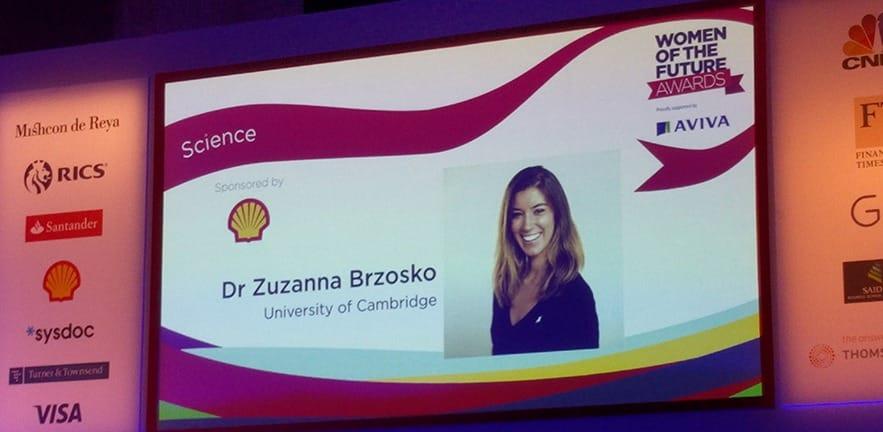 Zuzanna Brzosko, Women of the Future Award 2017 nominee