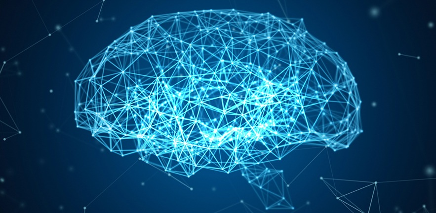 Human brain in the form of artificial intelligence.