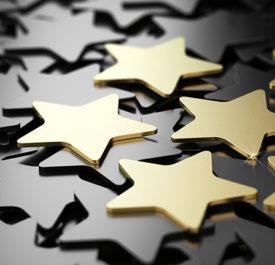 Image of gold stars
